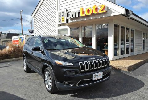 2014 Jeep Cherokee Limited Front Wheel Drive SUV