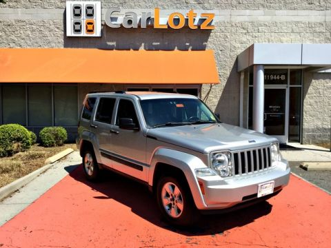 2012 Jeep Liberty Sport Four Wheel Drive SUV