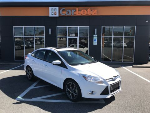 2014 Ford Focus SE Front Wheel Drive Sedan