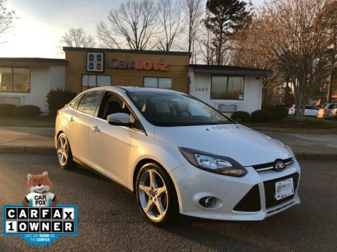2014 Ford Focus Titanium Front Wheel Drive Sedan