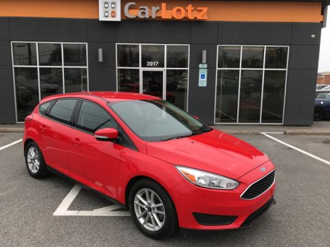 2015 Ford Focus SE Front Wheel Drive Hatchback