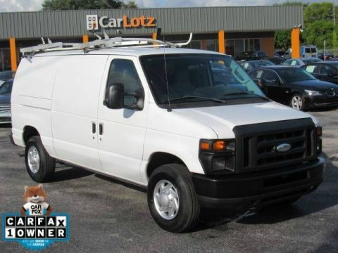 Pre-Owned 2014 Ford Econoline Cargo Van Commercial