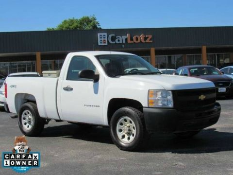 2012 Chevrolet Silverado 1500 Work Truck Four Wheel Drive Pickup Truck