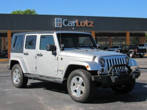 2009 Jeep Wrangler Unlimited Sahara Four Wheel Drive SUV