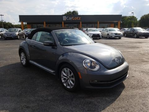 Pre-Owned 2013 Volkswagen Beetle Convertible 2.0L TDI w/Sound/Nav