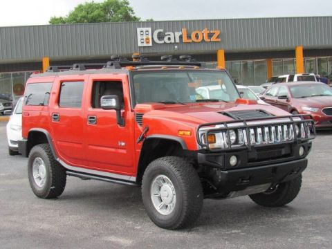 2003 HUMMER H2  Four Wheel Drive SUV