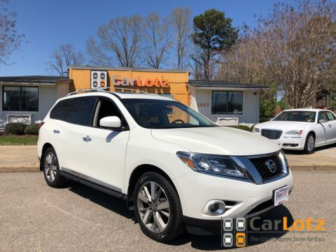 2015 Nissan Pathfinder Platinum With Navigation