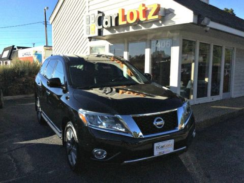Pre-Owned 2014 Nissan Pathfinder Platinum AWD