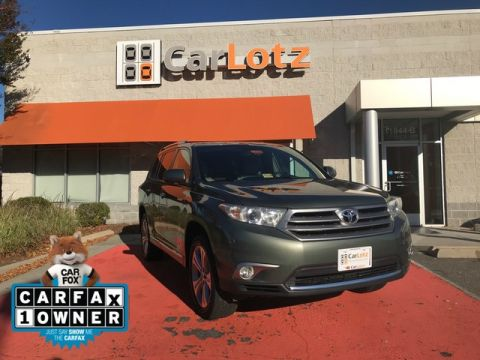 2013 Toyota Highlander Limited Four Wheel Drive SUV