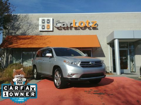 2013 Toyota Highlander Limited Front Wheel Drive SUV
