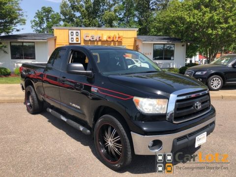 Pre-Owned 2010 Toyota Tundra 4WD Truck 5.7L Double Cab