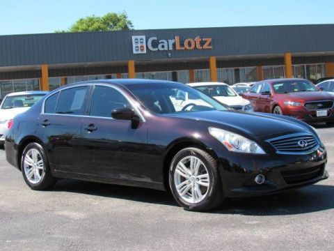2012 INFINITI G37 Sedan Journey Rear Wheel Drive Sedan