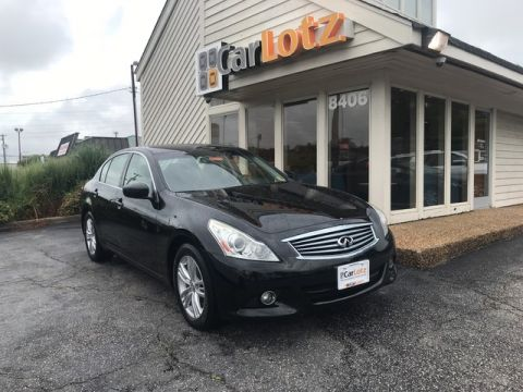 Pre-Owned 2011 INFINITI G25 Sedan Base