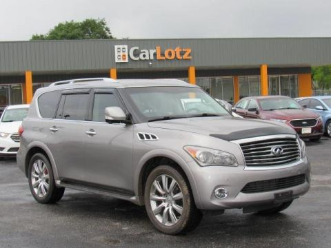 2012 INFINITI QX56 8-passenger With Navigation