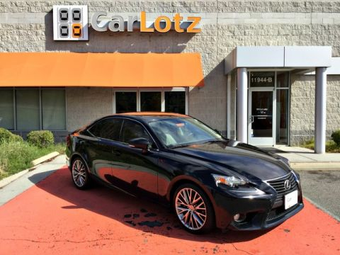 2014 Lexus IS 250  Rear Wheel Drive Sedan
