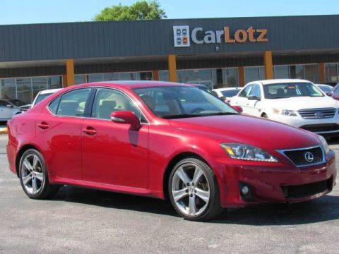 2012 Lexus IS 250  Rear Wheel Drive Sedan