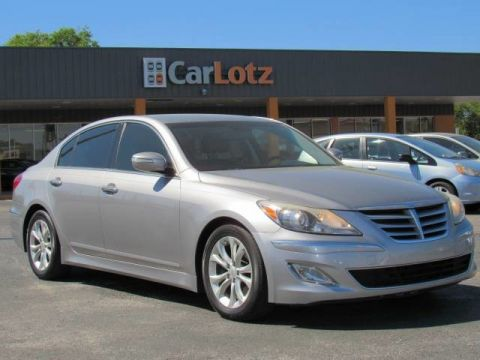 2012 Hyundai Genesis 3.8L Rear Wheel Drive Sedan