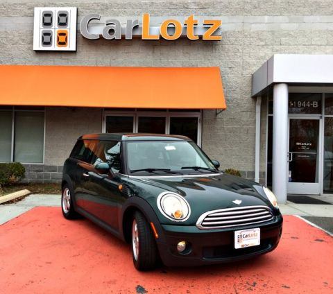 2010 MINI Cooper Clubman  Front Wheel Drive Coupe