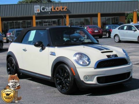 Pre-Owned 2015 MINI Cooper Convertible S