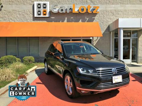 Pre-Owned 2015 Volkswagen Touareg Executive