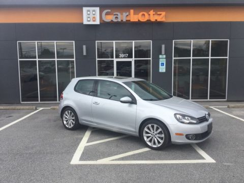 2013 Volkswagen Golf TDI w/Sunroof & Nav With Navigation