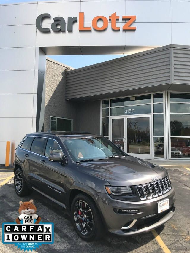 Pre-Owned 2014 Jeep Grand Cherokee SRT8