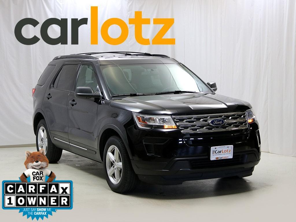 Pre-Owned 2018 Ford Explorer Base