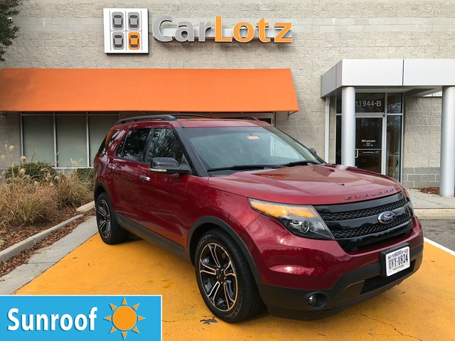 Pre-Owned 2013 Ford Explorer Sport