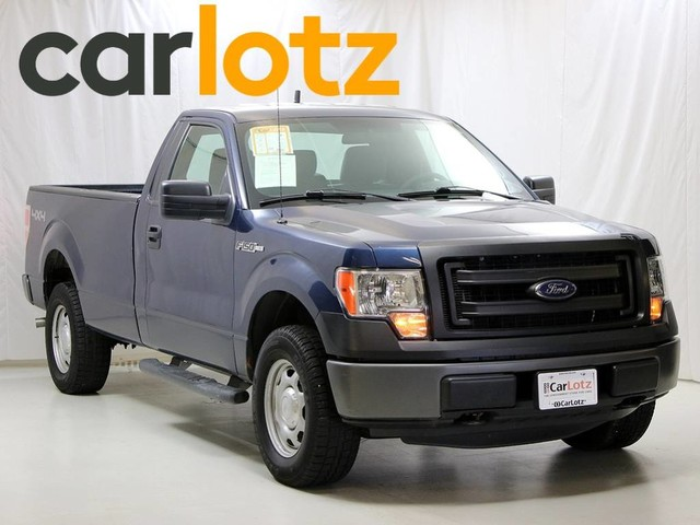 2014 Ford F-150 XL Four Wheel Drive Pickup Truck