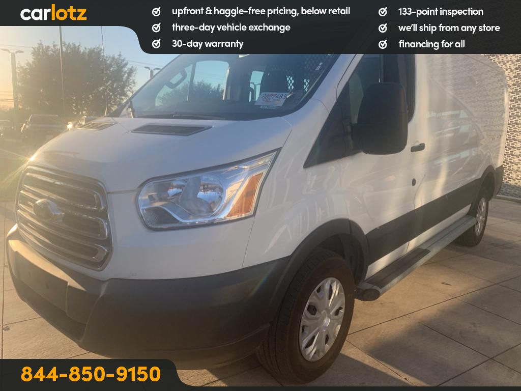 Pre-Owned 2018 Ford Transit Van T-250 Low Roof Slide Base