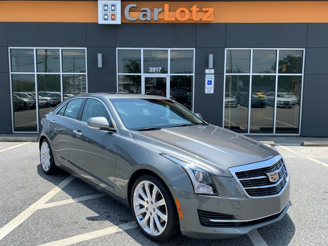 Cadillac Ats Sedan >> 2016 Cadillac Ats Sedan Luxury Collection Rwd Rear Wheel Drive Sedan