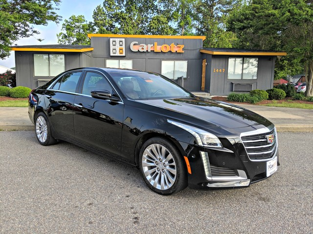 Pre-Owned 2015 Cadillac CTS Sedan Performance AWD