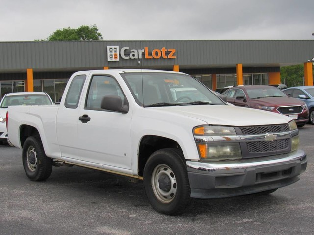 Pre-Owned 2007 Chevrolet Colorado Work Truck