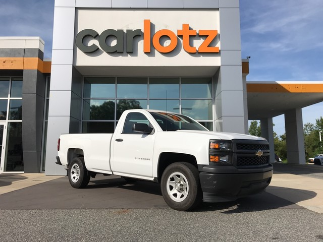 Pre-Owned 2015 Chevrolet Silverado 1500 Work Truck