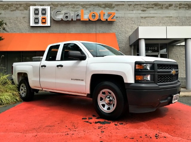 2014 Chevrolet Silverado 1500 Work Truck Rear Wheel Drive Pickup Truck