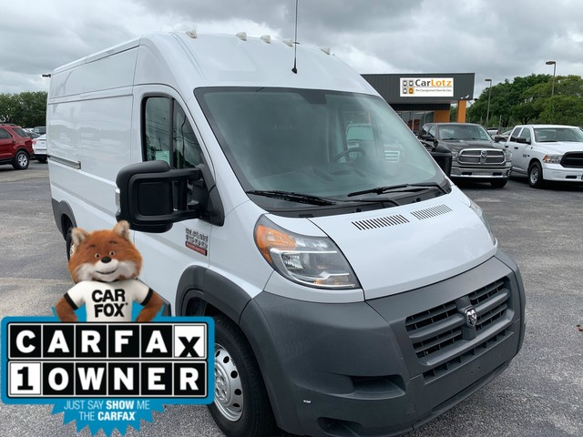 Pre-Owned 2015 Ram ProMaster Cargo Van High Roof 136'' WB