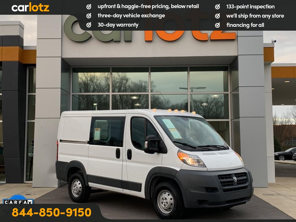 Pre-Owned 2014 Ram ProMaster 1500 Low Roof 118WB