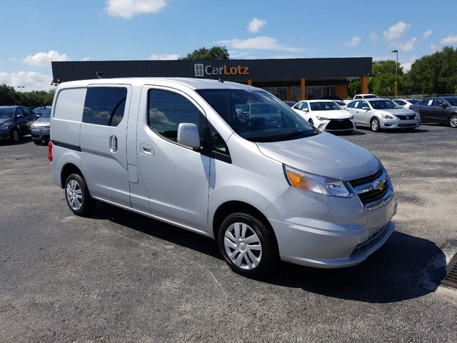 Pre-Owned 2015 Chevrolet City Express Cargo Van LT