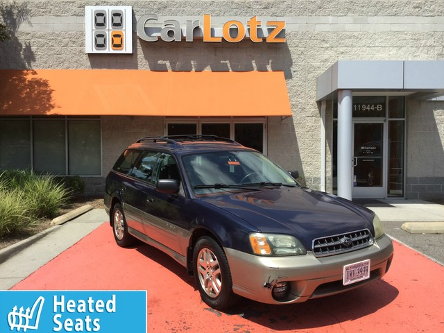 Pre-Owned 2004 Subaru Legacy Wagon (Natl) Outback