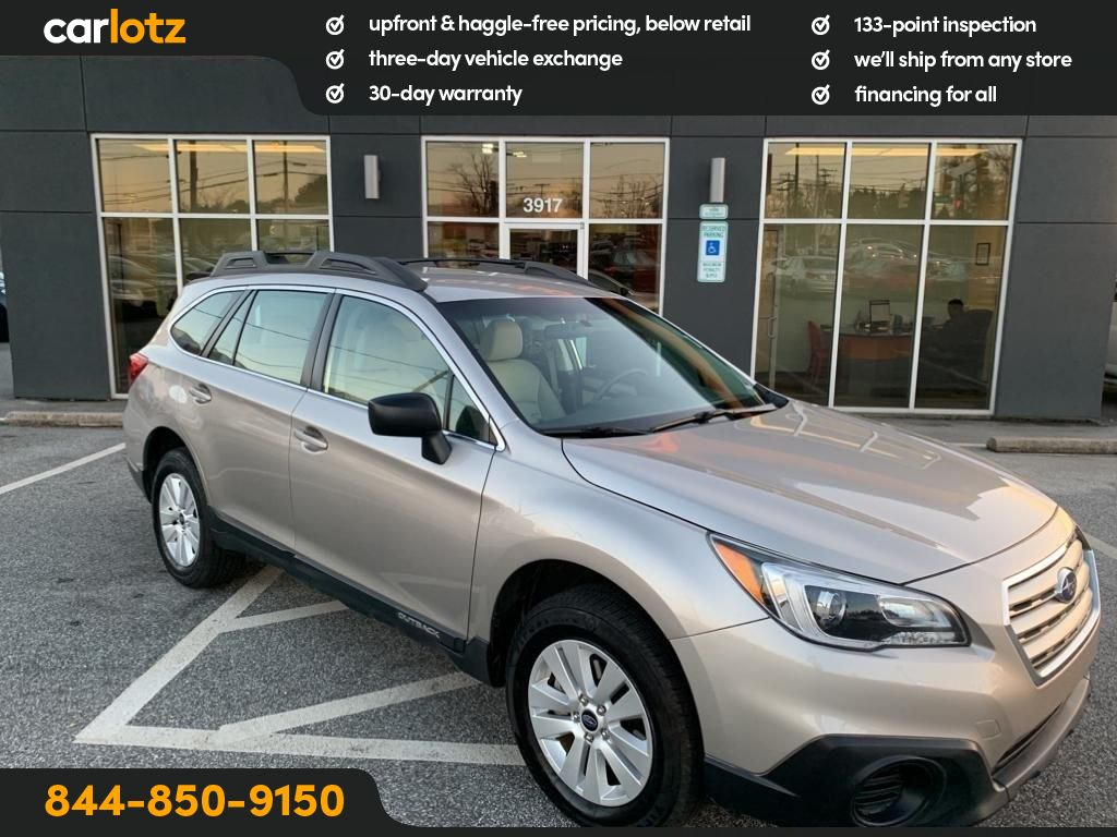 Pre-Owned 2017 Subaru Outback Base
