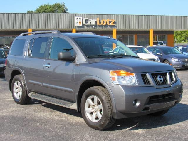 Pre-Owned 2015 Nissan Armada SV