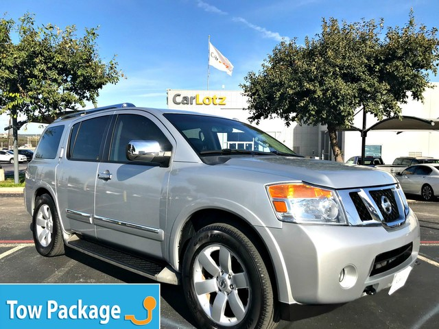 Pre-Owned 2014 Nissan Armada SL