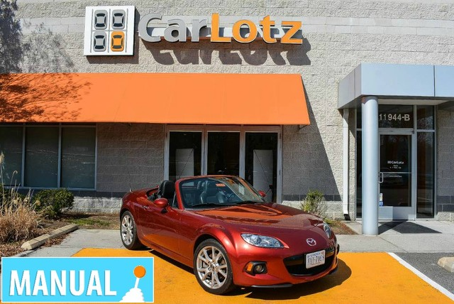 Pre-Owned 2014 Mazda MX-5 Miata Grand Touring