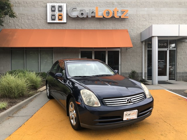 Pre-Owned 2004 INFINITI G35 Sedan w/Leather