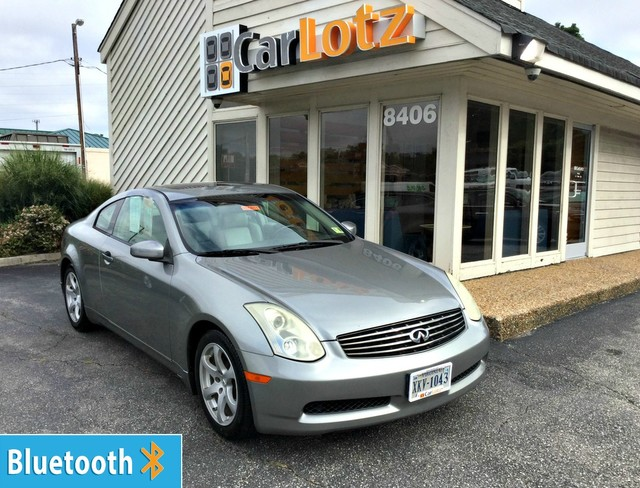 Pre-Owned 2007 INFINITI G35 Coupe