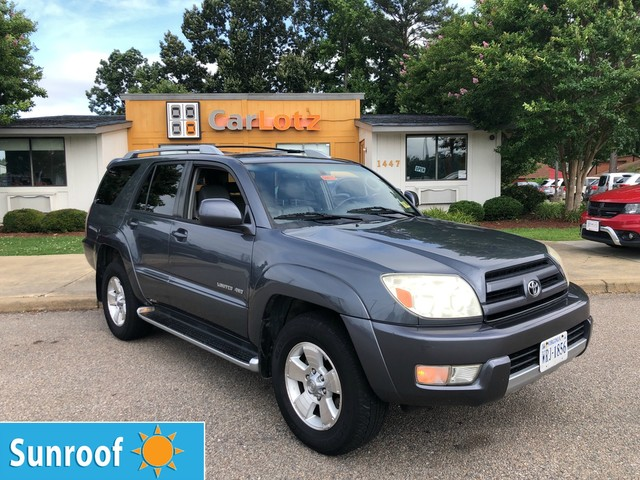 Pre-Owned 2004 Toyota 4Runner Limited