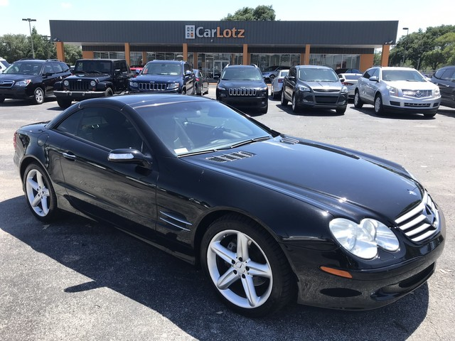 Pre-Owned 2004 Mercedes-Benz SL-Class 500