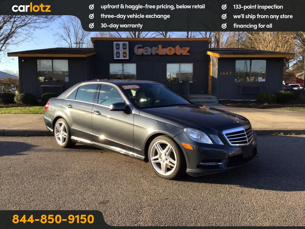 Pre-Owned 2013 Mercedes-Benz E-Class E350 4MATIC®