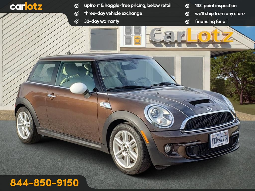 Pre-Owned 2013 MINI Cooper S