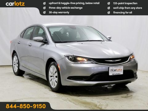 Pre-Owned 2015 Chrysler 200 LX